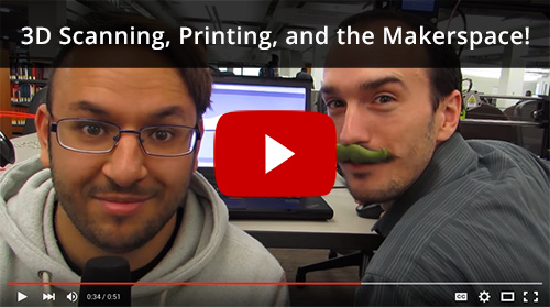 3D Scanning, Printing, and the Maker Space