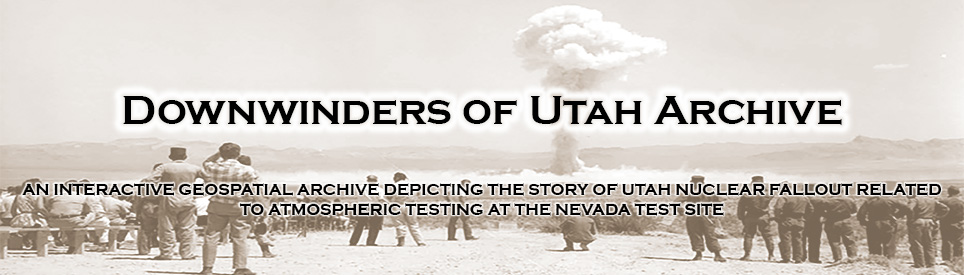 Downwinders of Utah Archive Banner