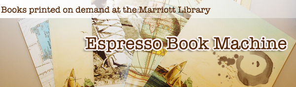 Espresso Book Machine Banner