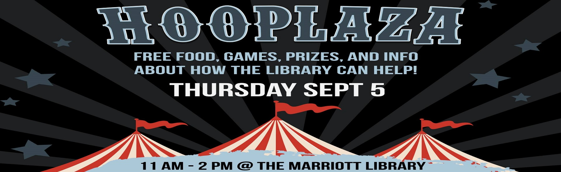Hooplaza at the Library on September 5th
