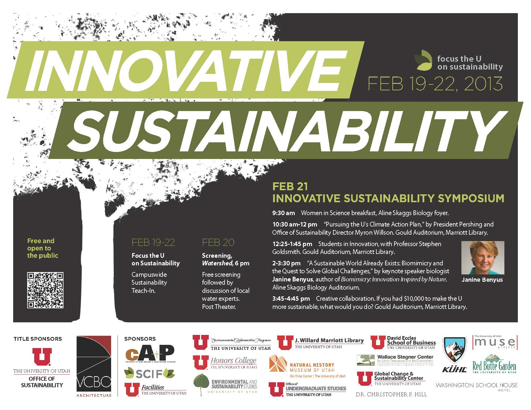 Innovative Sustainability Event February 21, 2013
