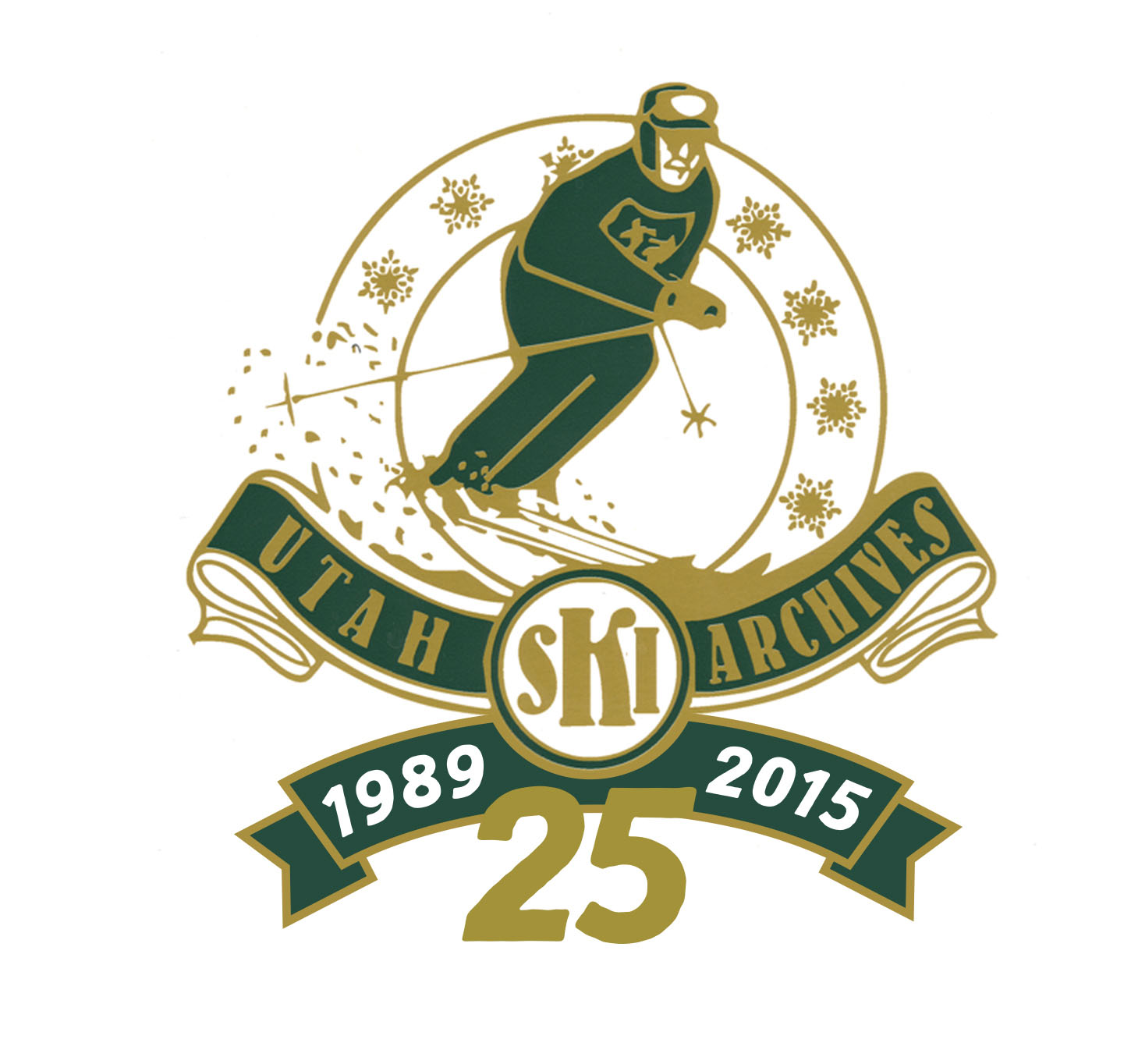Ski Archives 25th Anniversary Logo