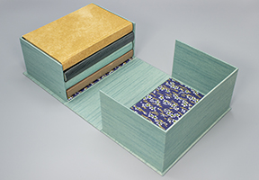 image of clamshell box