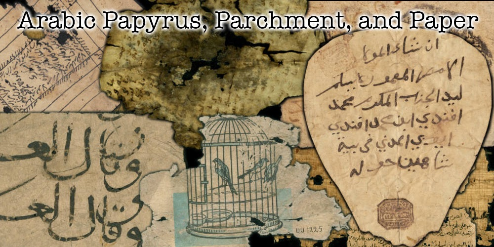 Arabic Papyrus collection