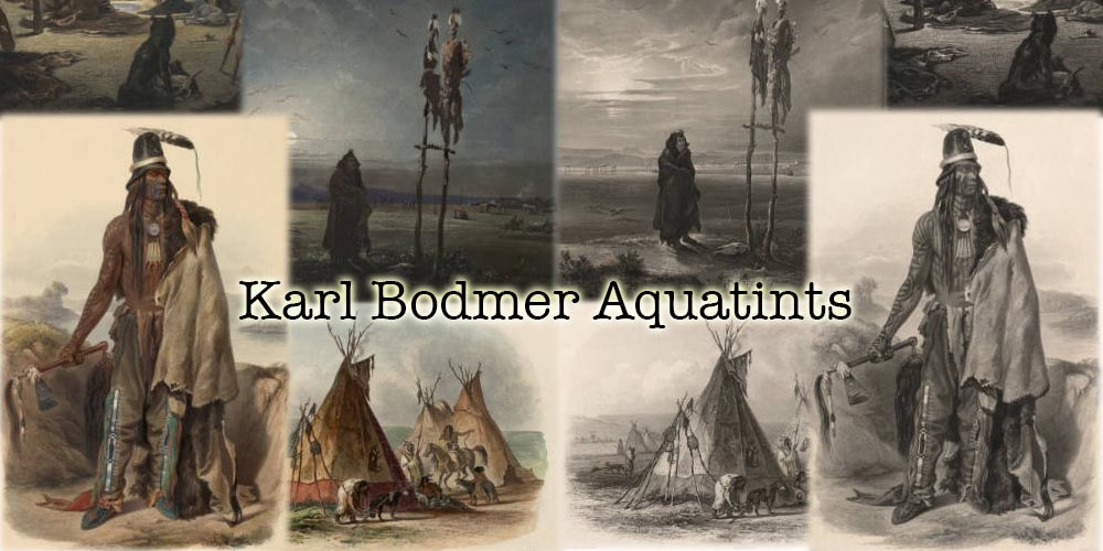 Karl Bodmer Aquatints collection