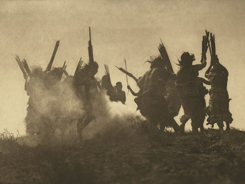native american photo by edward curtis