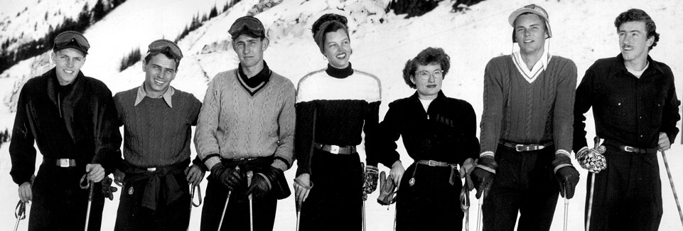 Early Olympic Ski Team