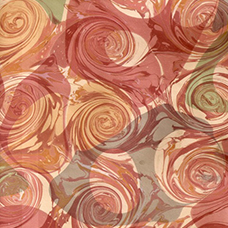 Image of a marbled paper by Pam Smith