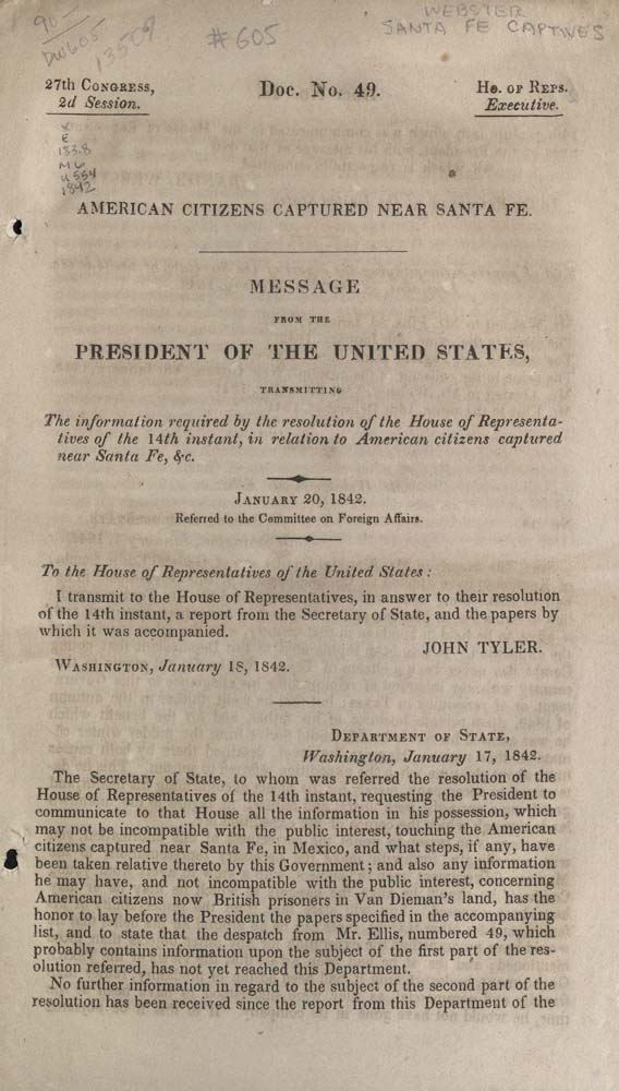 American Citizens, First Page