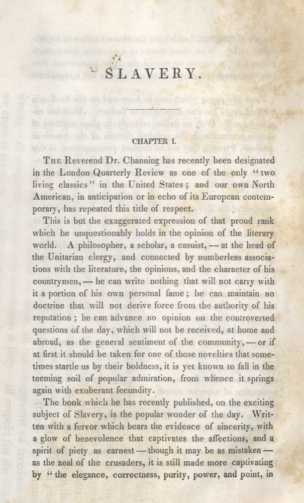 "James Tercithick Austin, Remarks on Dr. Channing's ""Slavery"", 1835"