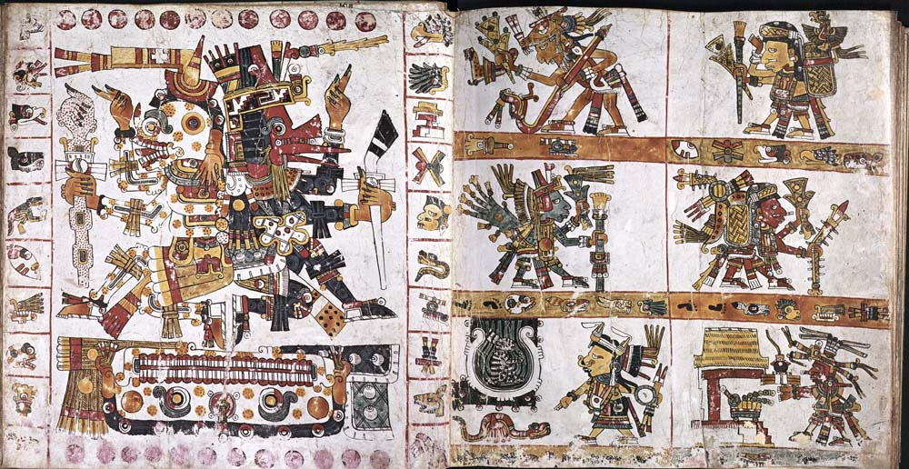 Codex Borgianus, Spread