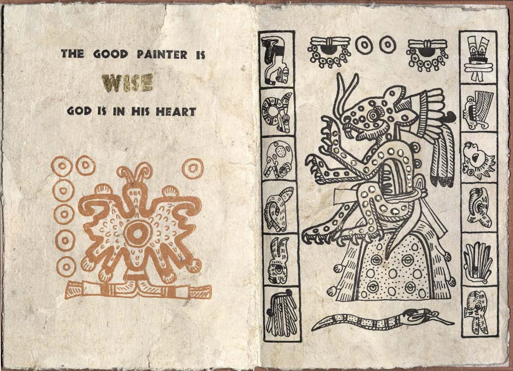 An Ancient Aztec Song, Spread