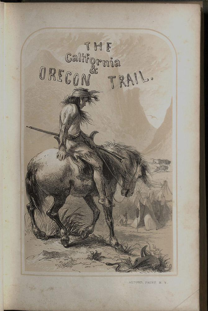 Parkman, The California And Oregon Trail, 1849