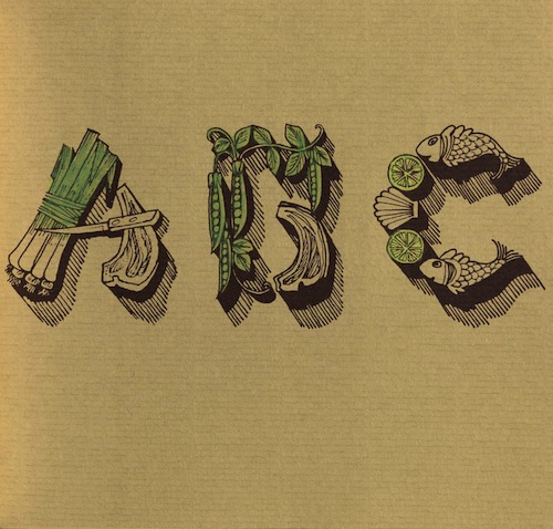 Stokeld, PINKS: AN EDIBLE ALPHABET, 1980