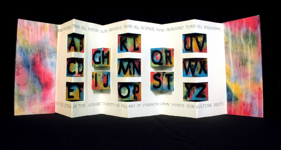 Wells, 3-D ALPHABET BOOK, 2003