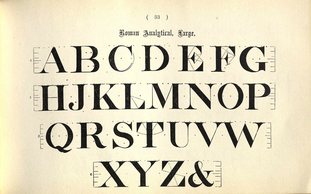 Delamotte, ALPHABETS FOR SIGNWRITERS, ARTISTS, AND…, 1927