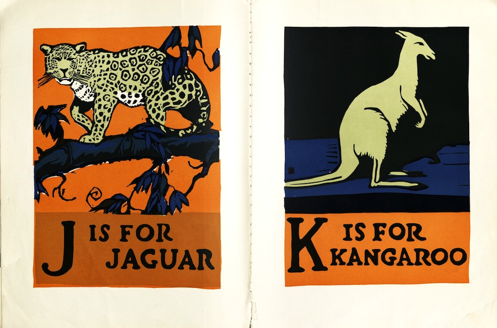 ABC BOOK, DESIGNED AND CUT ON WOOD…, 1923