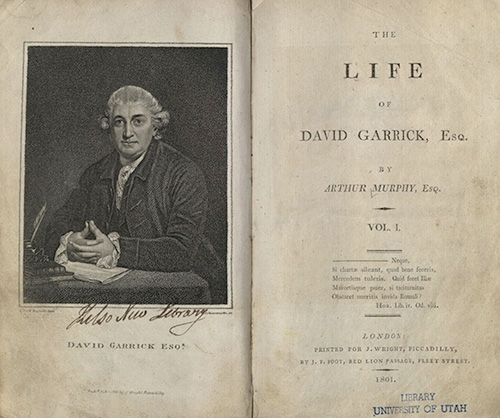 Murphy, The Life of David Garrick, Esq., 1801
