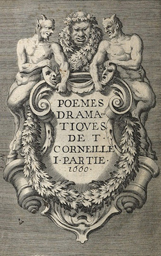 Corneille, Poemes Dramativqves....,1661