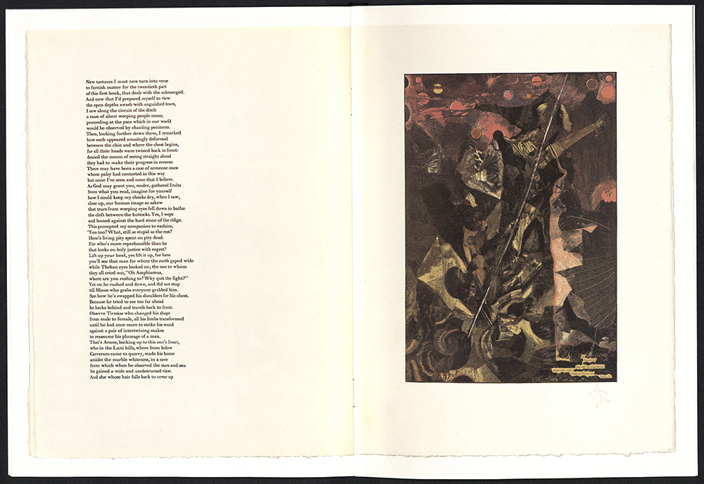 Tom Phillips, Dante's inferno, Talfourd press, 1983