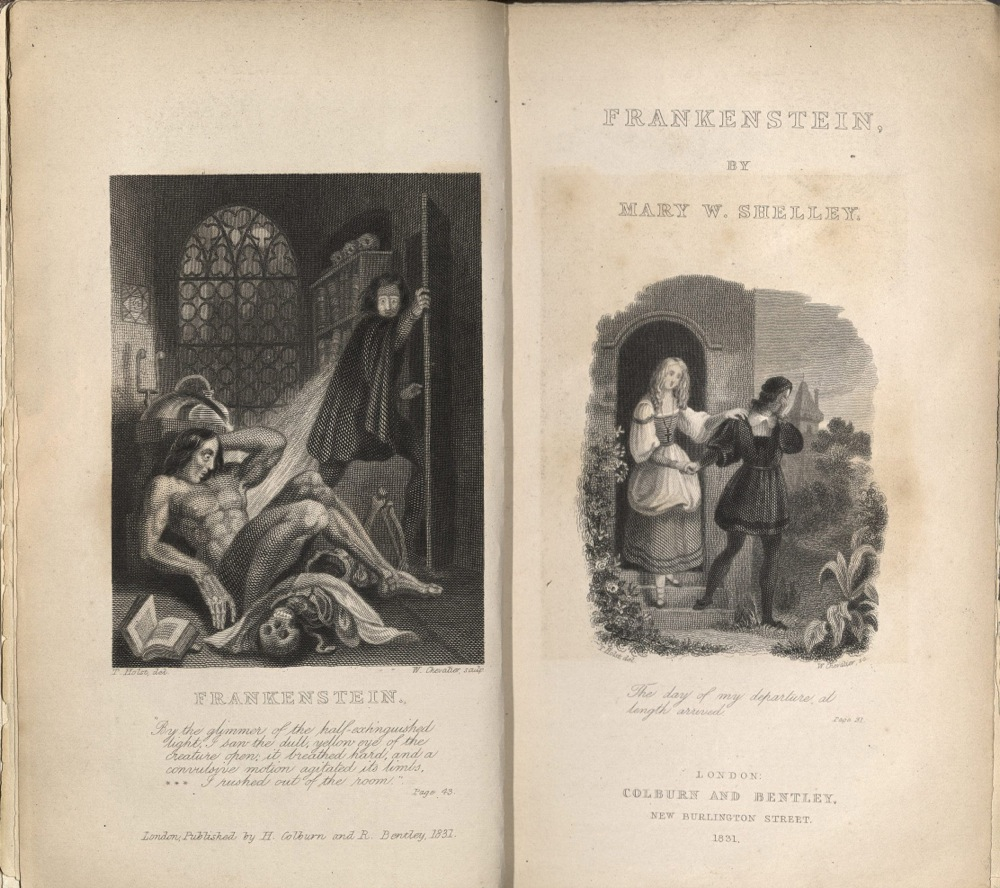 Mary Wollstonecraft Shelley, Frankenstein, 1831