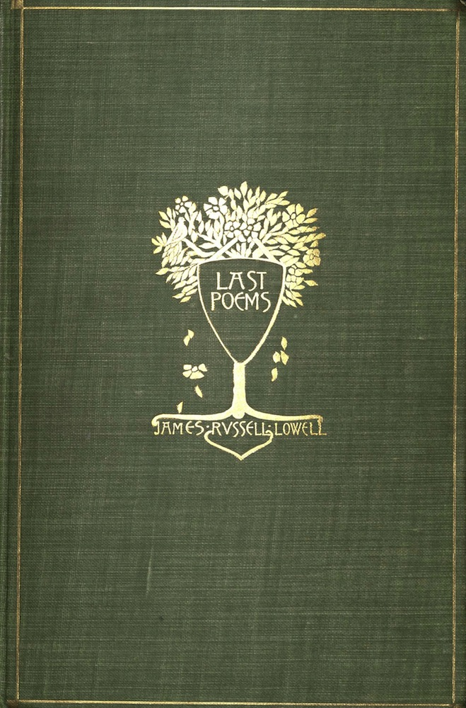 Lowell, Last poems, 1895