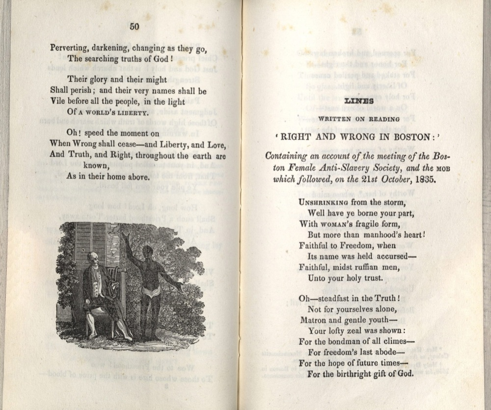 John Greenleaf Whittier, Poems, 1837