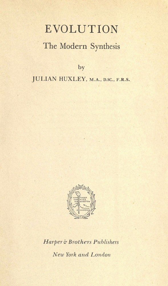 Huxley, Evolution