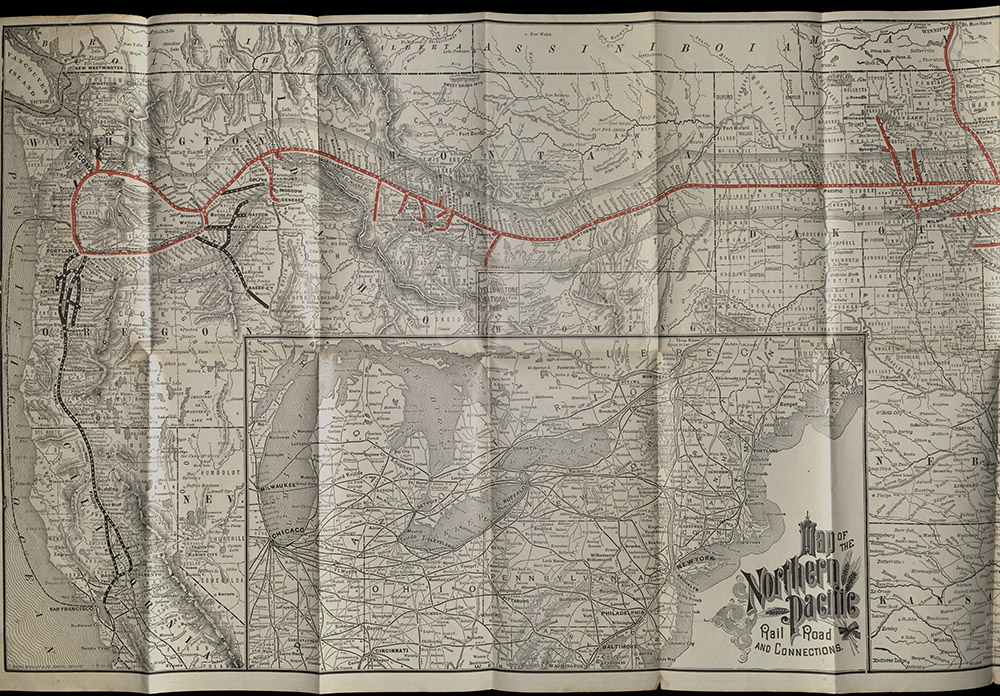 Northern Pacific Railroad, The Northern Pacific R.R…, 1888