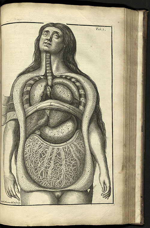 Collins' A System of Anatomy, 1685