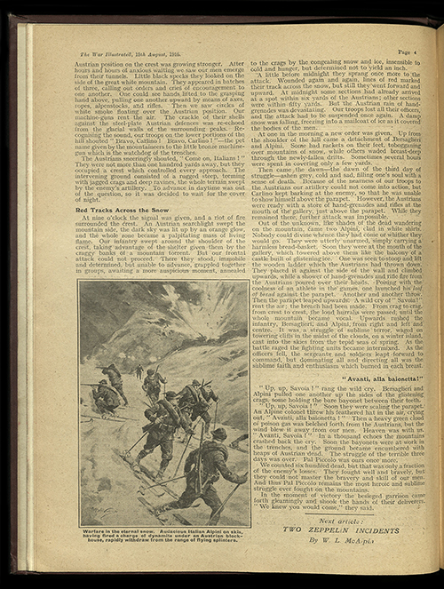 The War Illustrated, Number 105, Volume 5, 19 August 1916