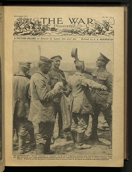 The War Illustrated, Number 106, Volume 5, 26 August 1916