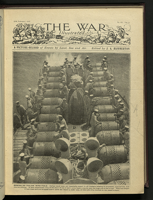 The War Illustrated, Number 131, Volume 6, 17 February 1917