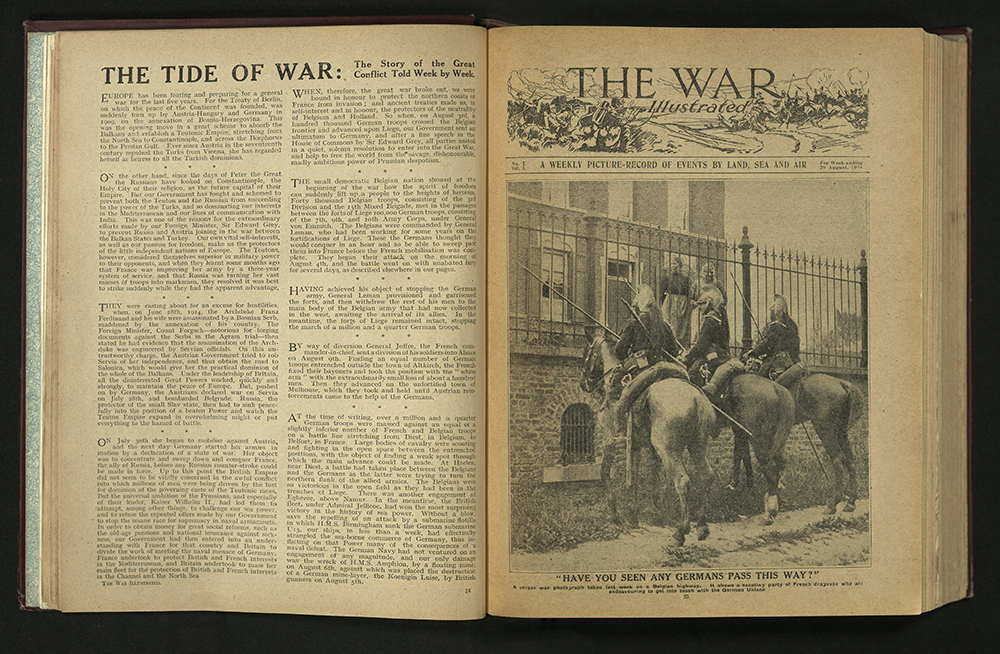 The War Illustrated, Number 2, Volume 1, 29 August 1914