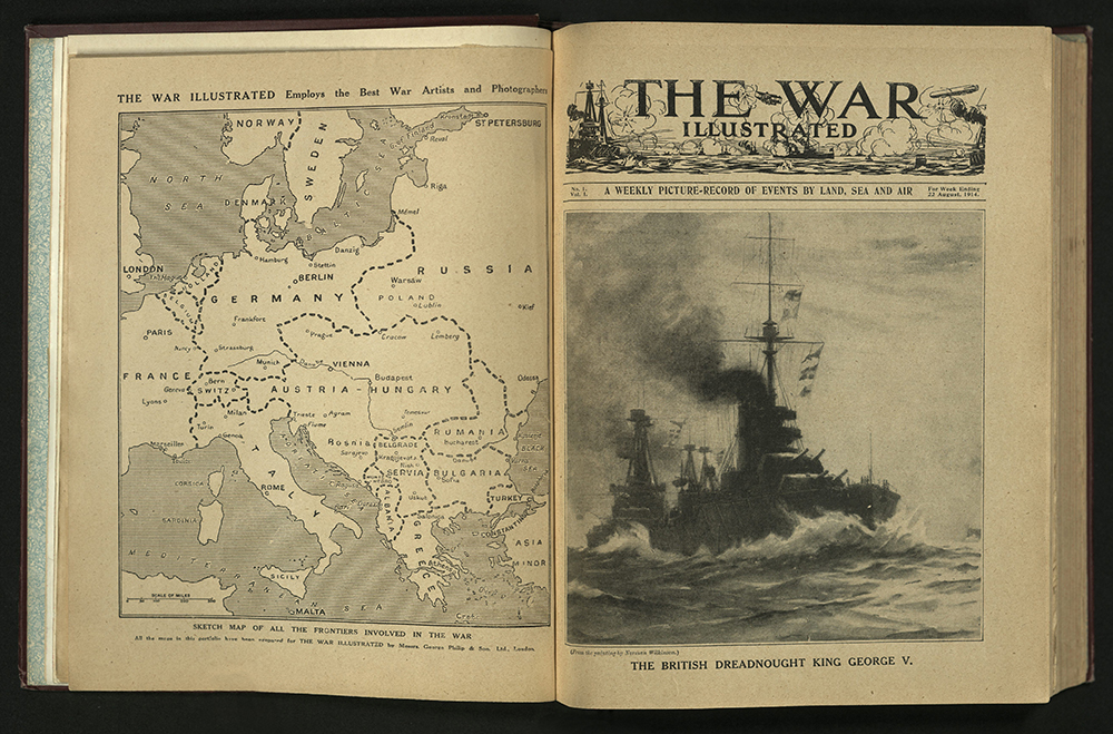The War Illustrated, Number 1, Volume 1, 22 August 1914