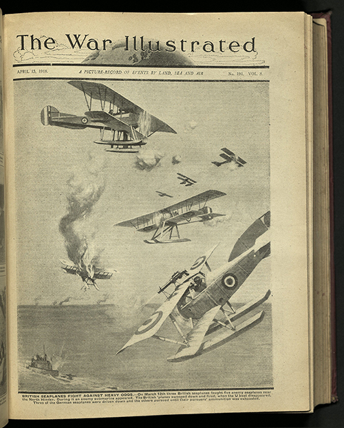 The War Illustrated, Number 191, Volume 8, 13 April 1918