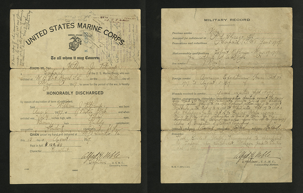 Discharge of William J. Putcamp