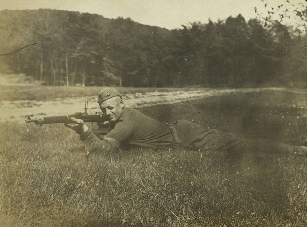 Marine with Rifle