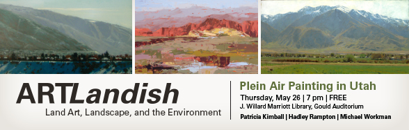 Plein Air with ArtLandish May 26th