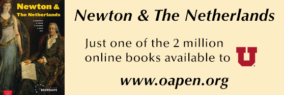 Newton & the Netherlands: Just one of the 2 million online books available to U at www.oapen.org