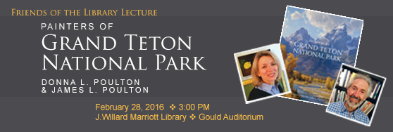 Friends of the Marriott Library Lecture - Feb 28