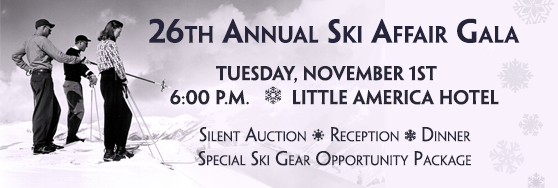 Get your tickets to the Ski Affair Gala - Tuesday November 1st