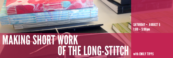 Making Short work of the Long-stitch