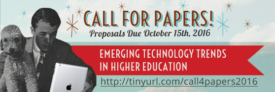 Emerging Technology in Higher Education Symposium - Call for Papers