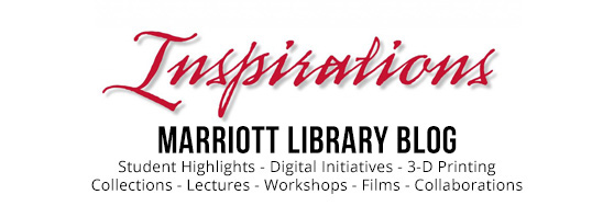 Check out the new J. Willard Marriott Library Electronic Newsletter