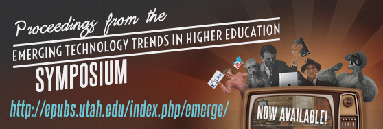 Proceedings from the 2015 Emerging Technology Trends in Higher Education