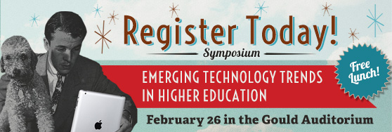 Emerging Trends in Higher Education 2016 Symposium: Register Today!