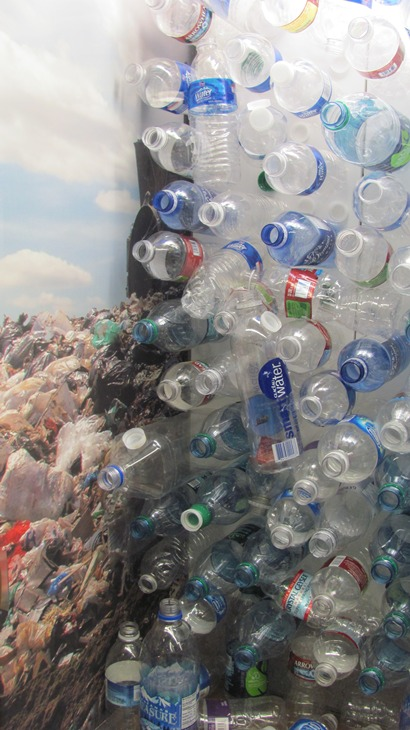 plastic bottle close up