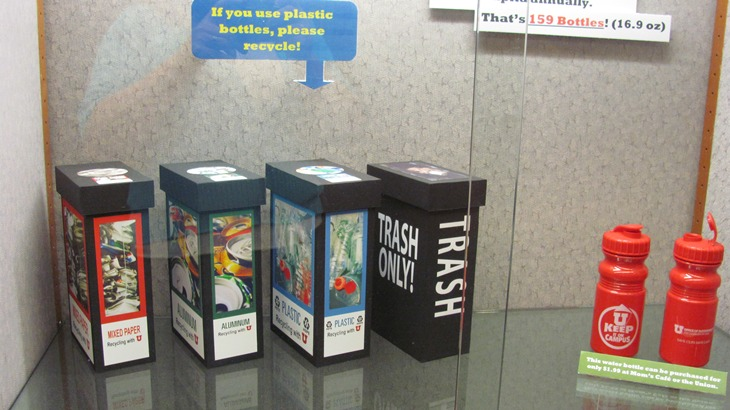 just fill it display mini bins