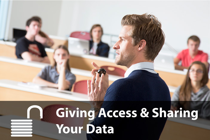 Giving Access to Data Resources